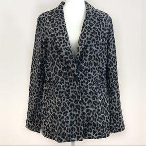 Cabi jungle jacket #3373 leopard blazer